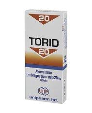torid 20